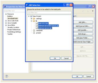 Setting up Eclipse for Selenium RC (6/6)
