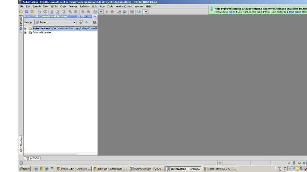 Setting up IntellijIDEA for Selenium (3/6)